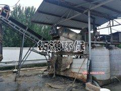 叠螺污泥压滤机处理肉鸡屠宰污水厂污泥