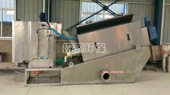 叠螺脱水机在豆制品加工废水应用