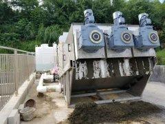 四川DL403叠螺式污泥脱水机-大型污水厂污泥脱水