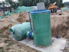 1000吨一体化预制泵站